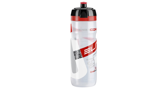 Elite Super Corsa MTB Trinkflasche 750ml transparent/rot
